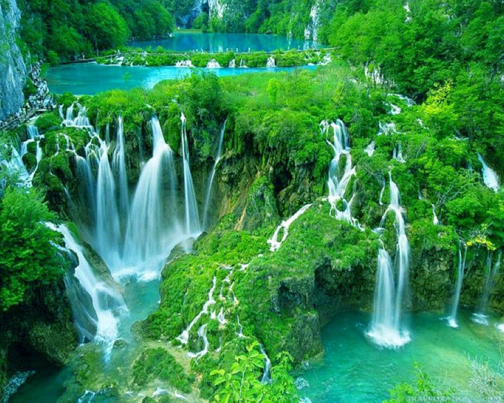 Image result for national park in croatia with beautiful waterfalls