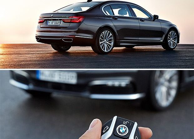 2016 BMW 7 Series at werd.com