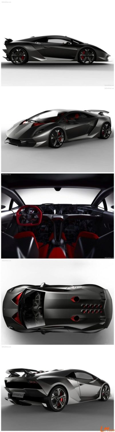 Lamborghini Sesto Elemento – It's name is a reference to the atomic number of ca…