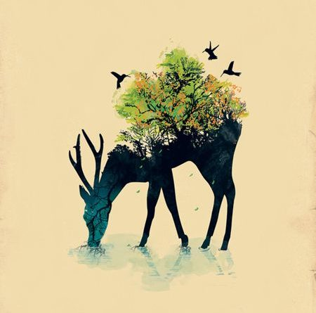 Illustrations by Budi Satria Kwan | Design daily news