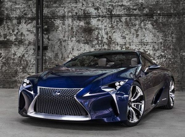 """Lexus LF-LC Blue""  This is one heck of a Lexus…gotta be the most ""radical"" we…"