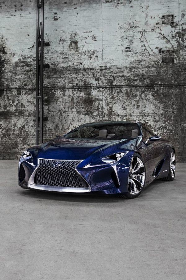 """""""Lexus LF-LC Blue""""  This is one heck of a Lexus…gotta be the most """"radical"""" we…"""