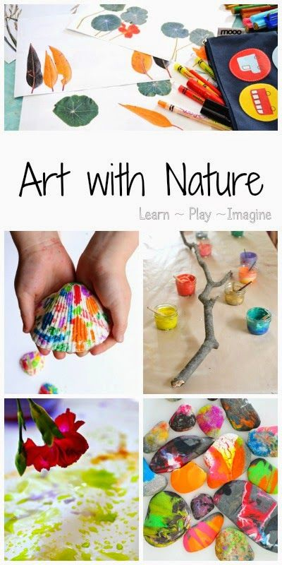 Art with Nature…