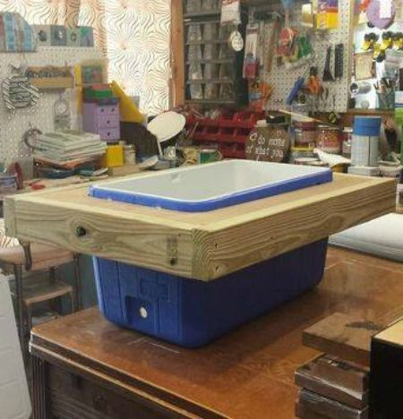 This amazing cooler idea will make your neighbors SO jealous!…