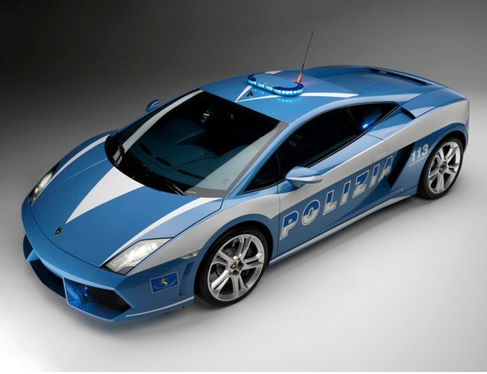The Italian use this awesome Gallardo Police car for what exactly? Do you know? …
