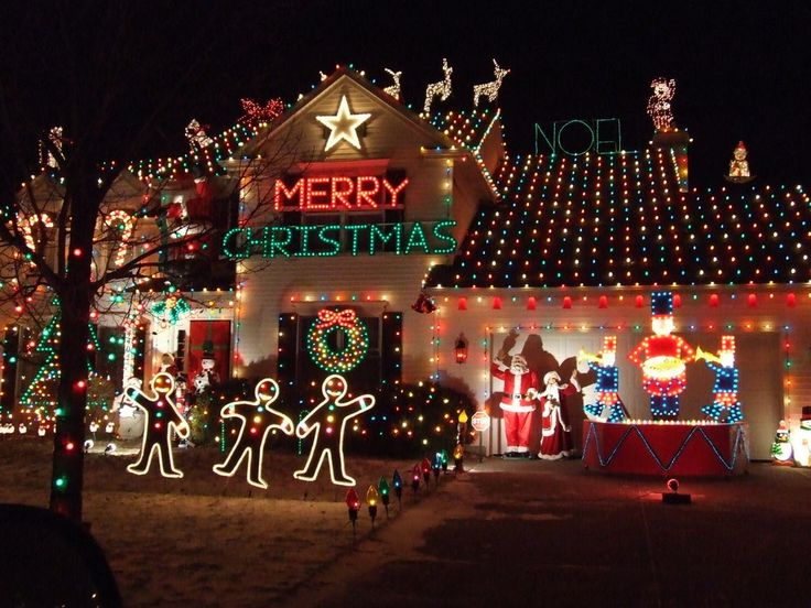 Crazy but lovely Christmas decorations…