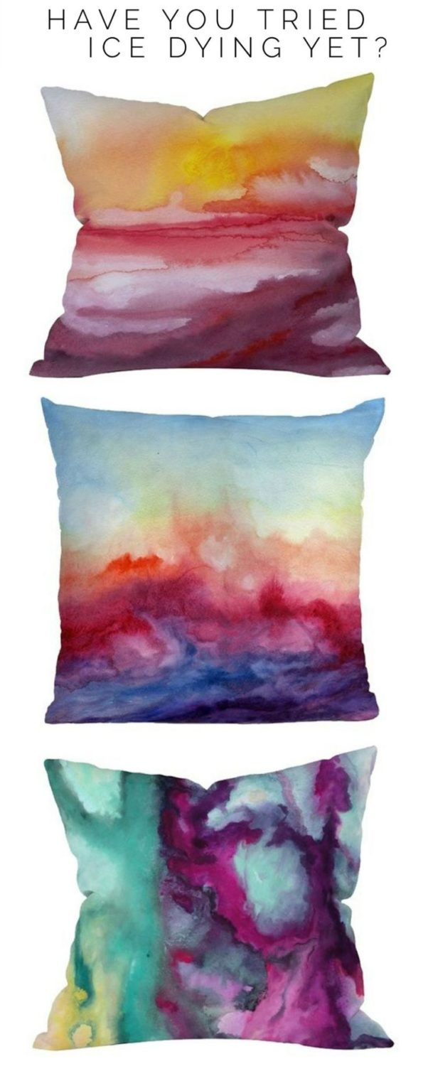 How to ice dye on fabric…