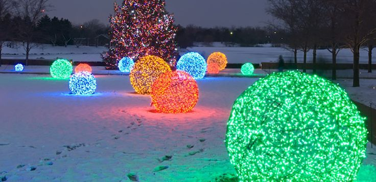 How To Make Lighted Christmas Balls – My Honeys Place…
