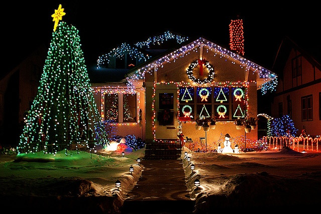 christmas lights…
