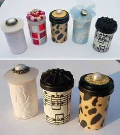Upcycle Ideas with Pill Bottles | DIY Treasure Tube by DIY Ready at diyready.com…