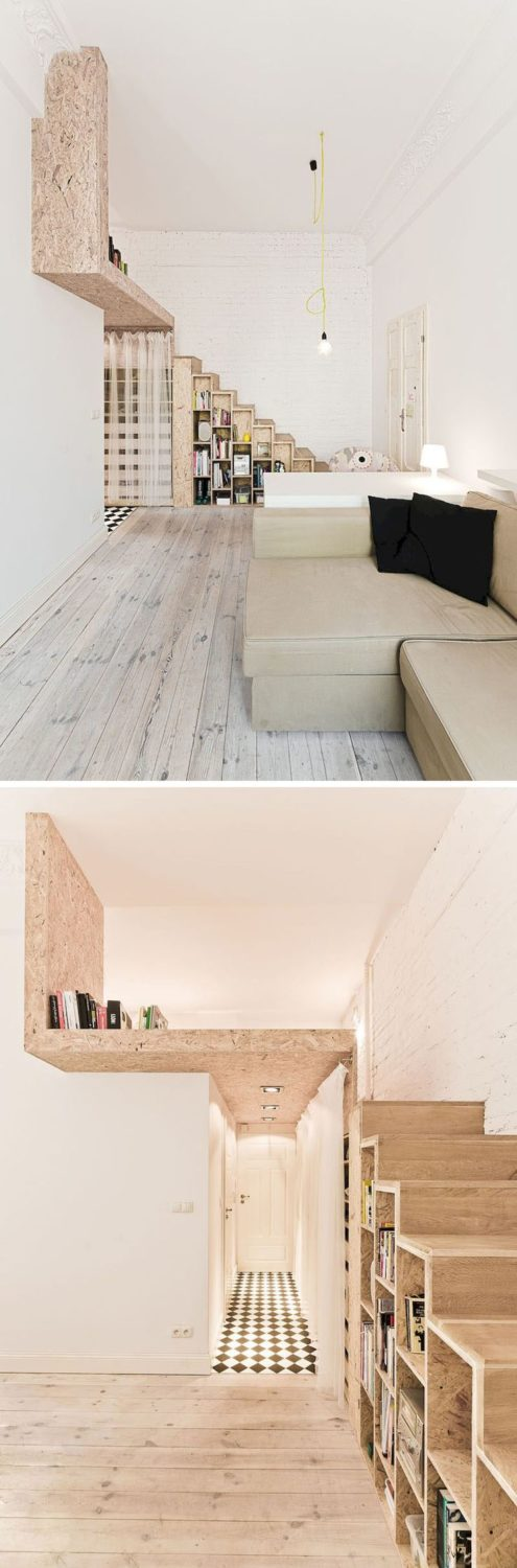 Awesome 45 Modern Loft Space to Make Your Apartment Feel Bigger homstuff.com/……