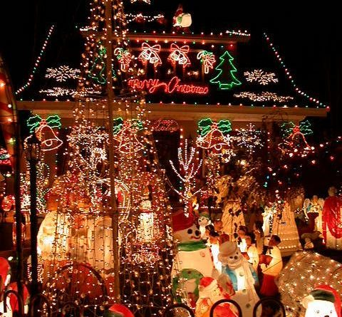 Crazy Over The Top Christmas Decorations HAMILTON, NEW JERSEY 2 by Christian Mon…