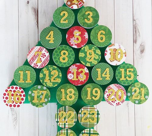 Make an advent calendar. | 33 Genius Ways To Reuse Your K-Cups…
