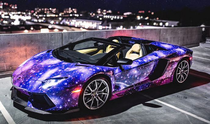 This galactic Lamborghini is something else! Check it out. #spon #wow…