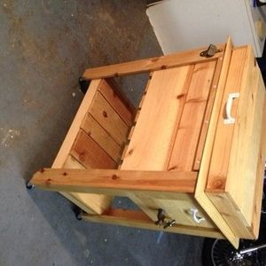 Check out this project on RYOBI Nation – My husband got me a table saw for Chris…