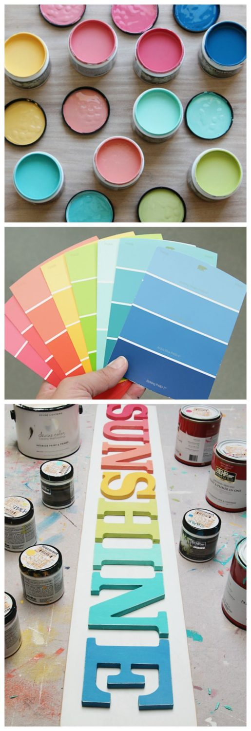 The Perfect Paint Colors   Fun, bright and colorful paint colors…