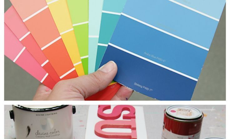 The Perfect Paint Colors | Fun, bright and colorful paint colors…