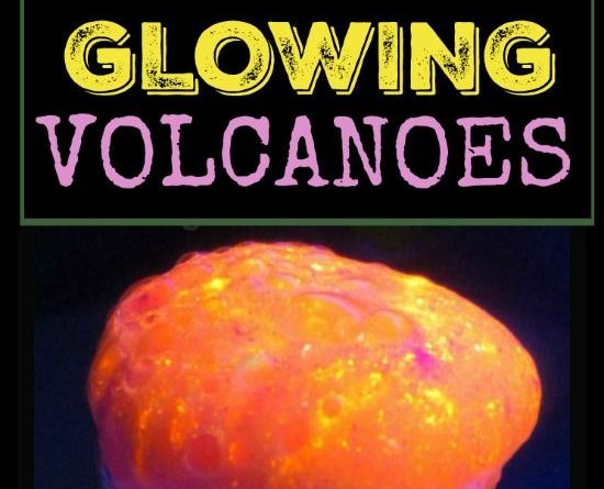 AMAZING SCIENCE FOR KIDS: GLOWING VOLCANOES…