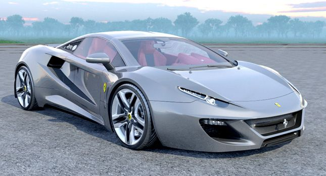 Designer Envisions a Ferrari 458 Italia Replacement with New FT12 Concept – Cars…