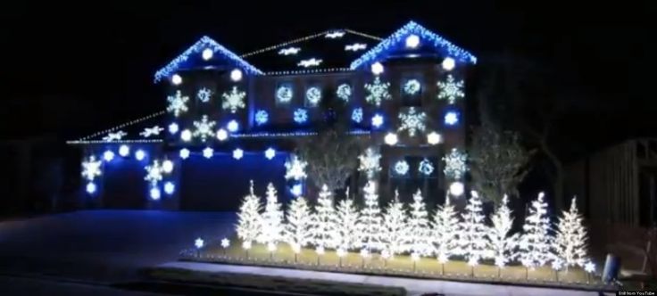 Royal Oak, Mi. Home Christmas Lights…