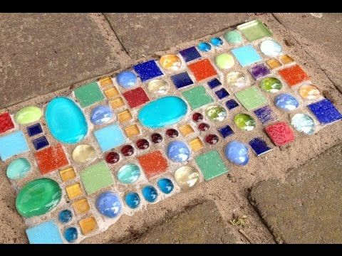 Alice-ART Mosaik Pflastersteine Mosaic on Paving Stones – YouTube…
