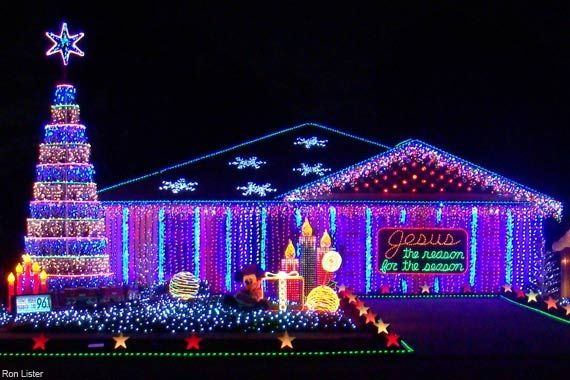 'Tis the season again for exterior illumination, when electric elves everywh…