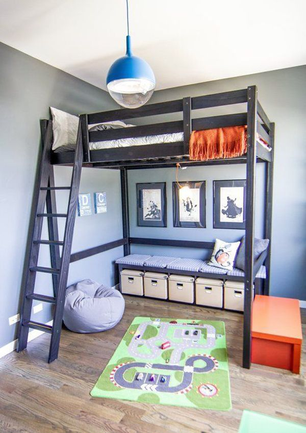 kids loft bed ideas beds mezzanine floors for box room spare…