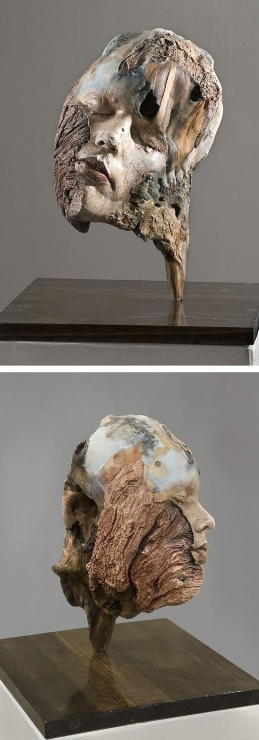 Driftwood art by Michelle Dickson | sculpture | nature-inspired art…