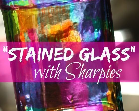 I have plenty of glass jars around for the kiddos to scribble on — Create the …