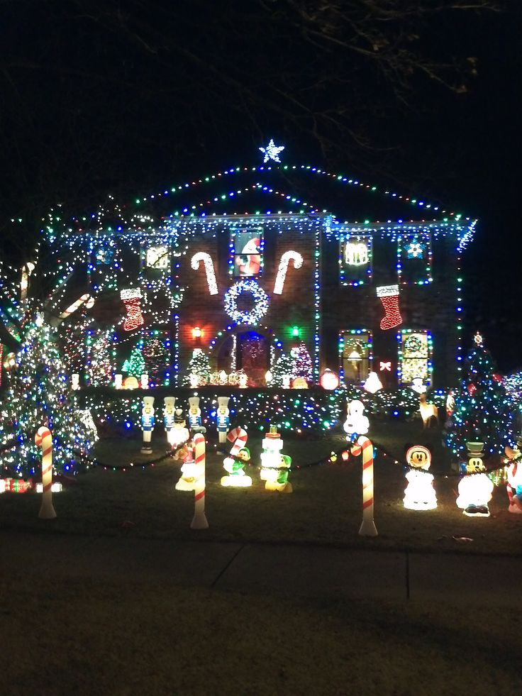 crazy christmas lights in naperville….