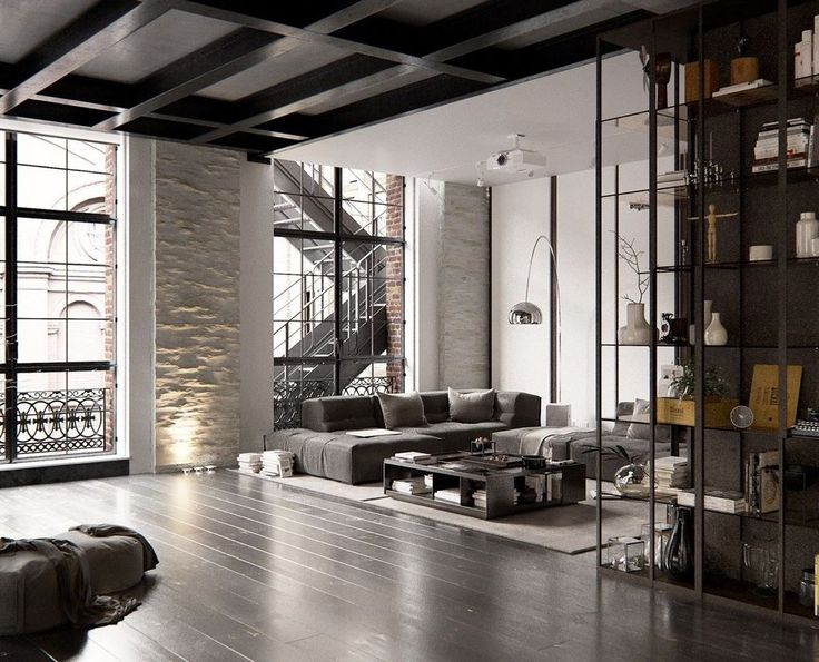 Nice 40 Awesome Loft Apartment Decorating Ideas…