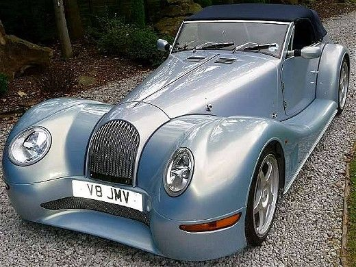 Its a Vintage Morgan. Awesome car!…